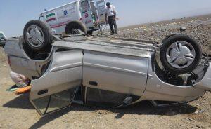 1111373 774 e1493784716167 300x184 مرگ نوزاد ۹ ماهه پس از واژگونی خودرو پراید