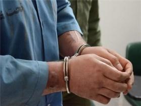 6117081 539 دستگیری 2 سارق جلو بانکی در اهواز