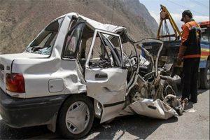 139506201139275861419913 300x200 مرگ 2 سرنشین پراید در تصادف جاده شوش   اهواز