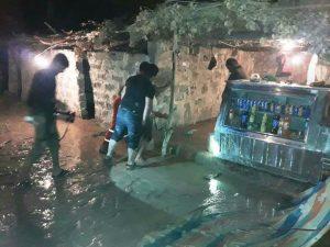 167320 300x225 جاری شدن مجدد سیلاب در مرغزار و امامزاده عبدالله باغملک