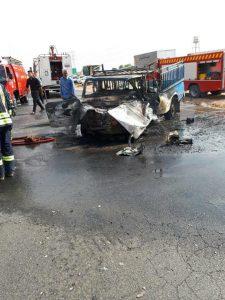 photo 2017 10 07 20 07 34 225x300 برخورد پراید و نیسان در خوزستان 2 نفر را به کام مرگ فرستاد