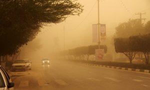 گرد و خاک 300x180 گرد و غبار و باران در آسمان خوزستان