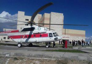 1396011511255911410443394 300x209 امدادرسانی هوایی به مصدومان حادثه تصادف در باغملک