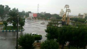1639691 554 300x169 بارش نم نم باران پاییزی در آبادان و خرمشهر
