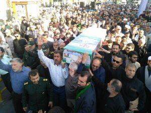 n82731400 71992517 300x225 پیکر پاک یک شهید مدافع حرم در اهواز تشییع و خاکسپاری شد