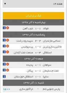 ۲۰۱۸۱۱۳۰ ۱۸۲۵۰۲ 217x300 گریزی به مسابقات لیگ برتر فوتبال ایران در هفته چهاردهم+جدول رده بندی