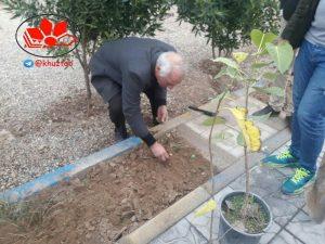 IMG 20190109 183641 350 300x225 آئین گل و درخت کاری در جوار شهدای ارامنه اهواز