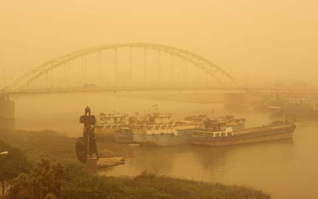 1483773 172 پیشبینی بارندگی و گرد و غبار تا شنبه