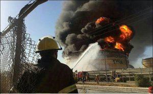 4803104 843 300x185 آتش سوزی مجمتع پتروشیمی بوعلی سینای ماهشهر غیر عمدی بود