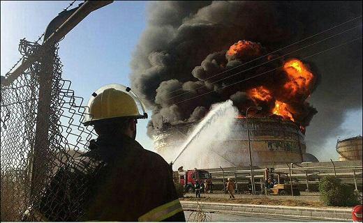 4803104 843 آتش سوزی مجمتع پتروشیمی بوعلی سینای ماهشهر غیر عمدی بود