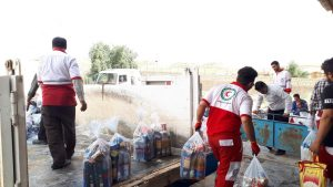 848f23dfcd0caa60cbef2fcef9f04826 300x169 امدادرسانی به 256 هزار و 701 نفر در سیل خوزستان
