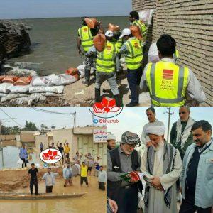IMG 20190507 040157 867 300x300 کمک ۲۸۰ میلیارد ریالی فولاد خوزستان به مناطق سیل زده استان/فولاد خوزستان متعلق به همه مردم خوزستان است