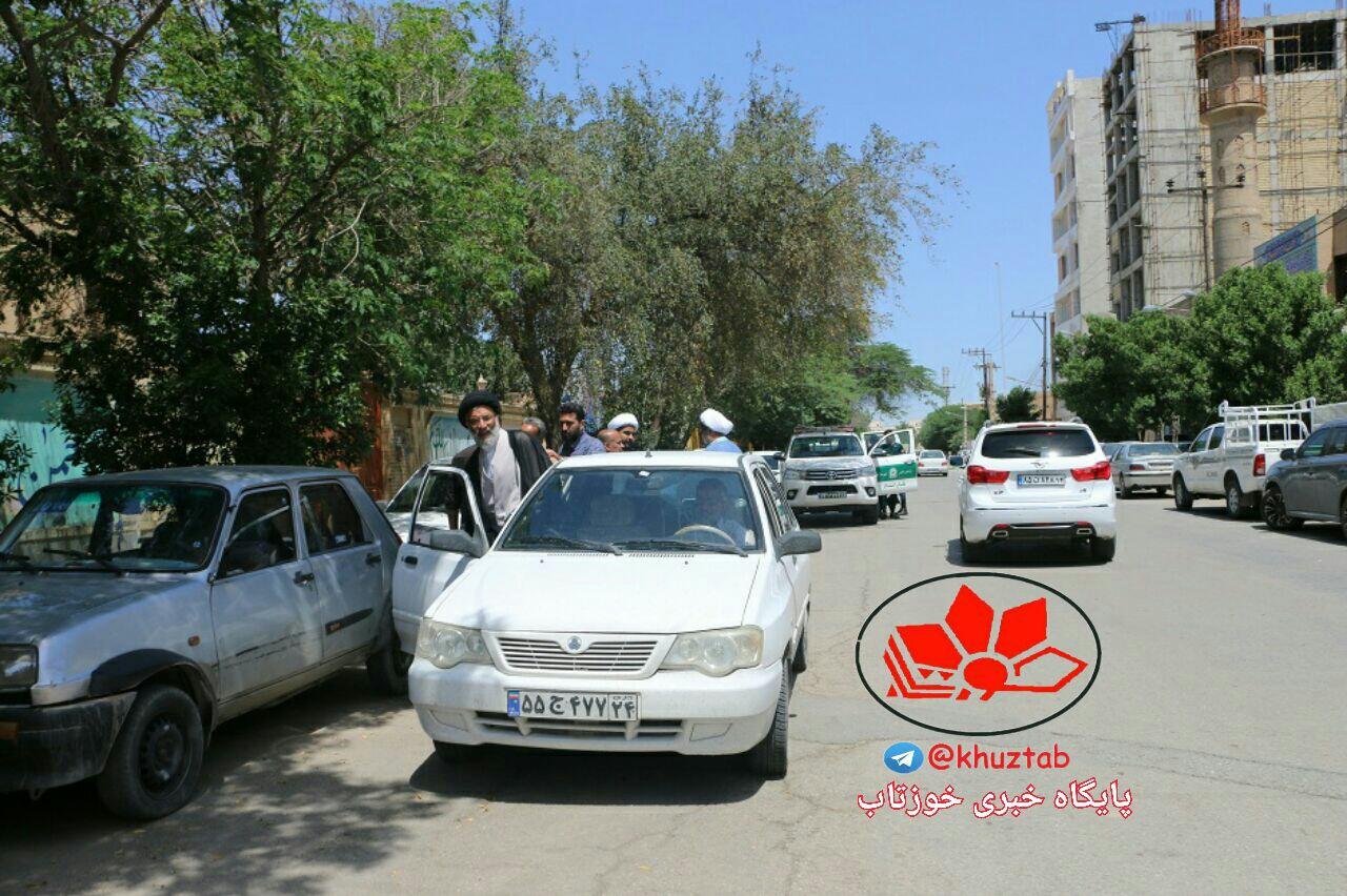 IMG 20190507 163548 595 خودرو لوکس نماینده جدید ولی فقیه در خوزستان