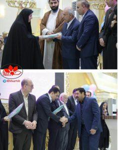 IMG 20190521 203325 716 235x300 بیست و یکمین جشنواره خیرین مدرسه ساز استان خوزستان در آموزش و پرورش ناحیه ۴ اهواز برگزار شد