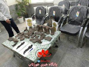 IMG 20190522 143053 870 300x225 کشف مجسمه مومیایی حین معامله غیرمجاز در دزفول + عکس