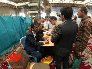 IMG 20190524 223448 513 300x225 برپايي میز خدمت در نماز جمعه این هفته شهرستان اهواز