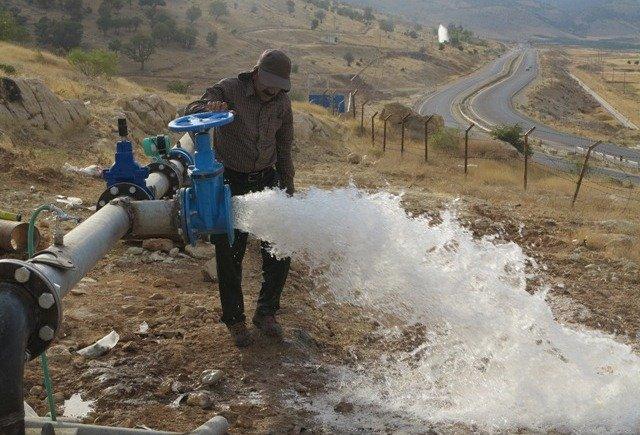 213723 افزایش ۸ هزار متر مکعبی تولید آب در شیبان