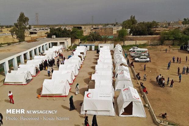 e8ed09f424f693f762a3c255636a5541 جمعآوری اردوگاههای اسکان اضطراری در مناطق سیلزده خوزستان