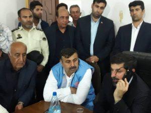 IMG 20190708 WA0021 300x225 تماس رئیس جمهور و وزیر کشور با استاندار خوزستان در رابطه با پیگیری وضعیت زلزله زدگان