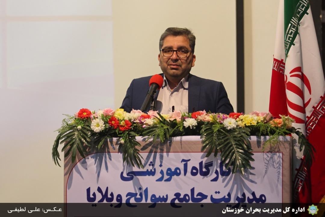 IMG 20190715 WA0089 عدم وقفه در تأمین انرژی کشور از دستاوردهای مدیریت بحران سیل در خوزستان بود