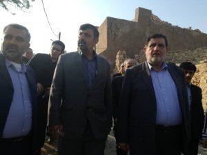 IMG 20190717 WA0014 300x225 بازدید نجار، رئیس سازمان مدیریت بحران کشور از مناطق زلزله زده مسجد سلیمان