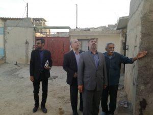 IMG 20190717 WA0015 300x225 بازدید نجار، رئیس سازمان مدیریت بحران کشور از مناطق زلزله زده مسجد سلیمان
