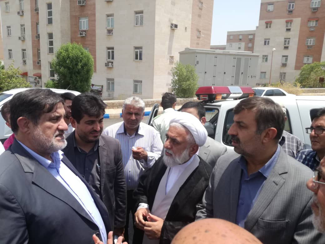 IMG 20190717 WA0033 بازدید نجار، رئیس سازمان مدیریت بحران کشور از مناطق زلزله زده مسجد سلیمان