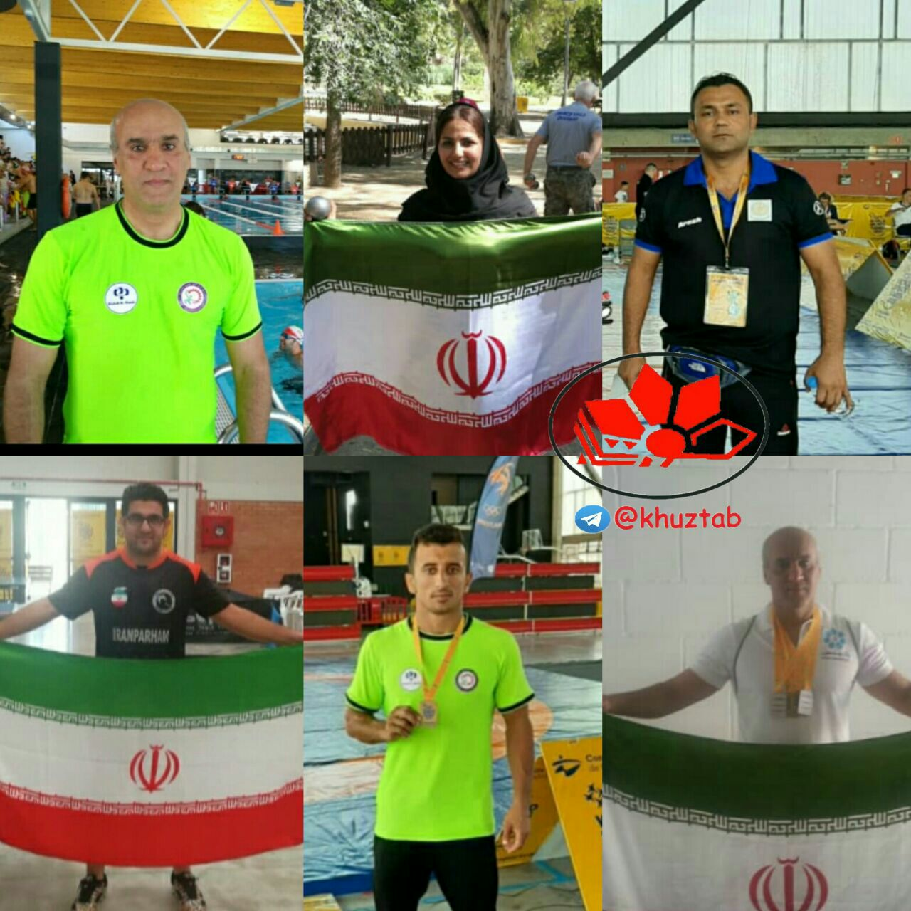 IMG 20190706 224450 594 درخشش کارگران ورزشکار خوزستانی در مسابقات جهانی اسپانیا با کسب ۱۸ مدال رنگارنگ
