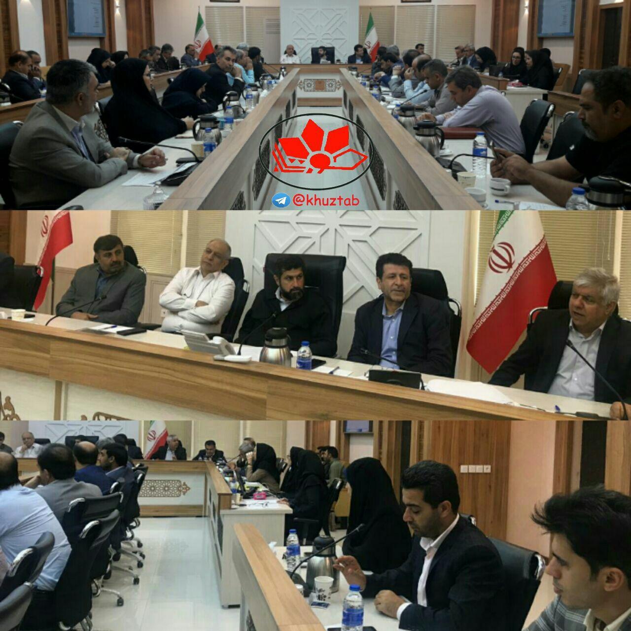 IMG 20190715 145455 867 اتمامِحجت استاندار خوزستان با مدیران غایب / عذر شما را میخواهیم