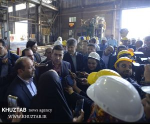 IMG 20190815 165735 933 300x249 بازدید معاون امور توسعه و مهندسی مدیرعامل شرکت ملی نفت از کارخانه لوله سازی اهواز