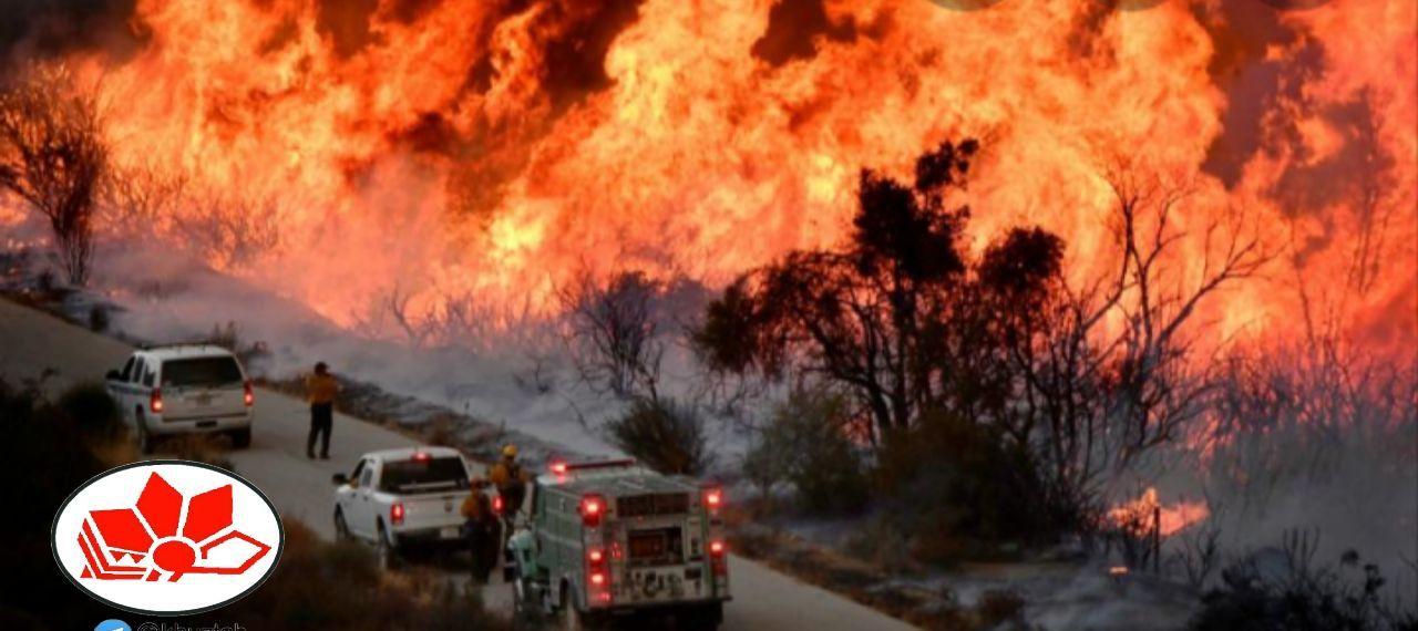 IMG 20190906 015054 857 اعلام آماده باش به سه شهرستان برای آتش سوزی منطقه نخودکار باغملک
