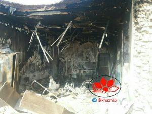 IMG 20190908 133702 963 300x225 دهیاری سنجر دزفول به آتش کشیده شد