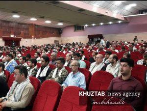 IMG 20190925 234606 213 300x226 گردهمایی عظیم رزمندگان جهاد و شهادت کارمندان استان برگزار شد