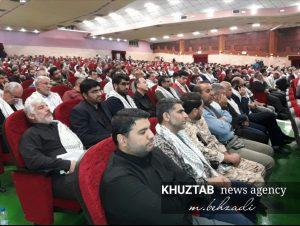 IMG 20190925 234609 550 1 300x226 گردهمایی عظیم رزمندگان جهاد و شهادت کارمندان استان برگزار شد