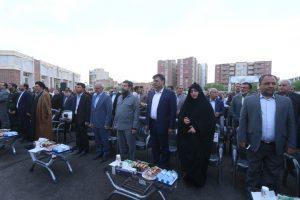 IMG 20191004 WA0039 300x200 سفر وزیر آموزش و پرورش و رییس سازمان نوسازی مدارس کشور به خوزستان