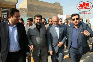 IMG 20191004 185639 584 300x200 سفر وزیر آموزش و پرورش و رییس سازمان نوسازی مدارس کشور به خوزستان