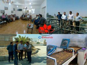 IMG 20191009 093827 287 300x225 بازدید مدیرعامل شرکت شهرکهای صنعتی خوزستان از شهرک صنعتی بهبهان