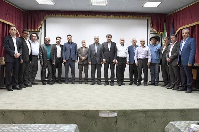 IMG 20191103 WA0003 پیشكسوتان مدیریت امور فنی مناطق نفتخیز جنوب تجلیل شدند