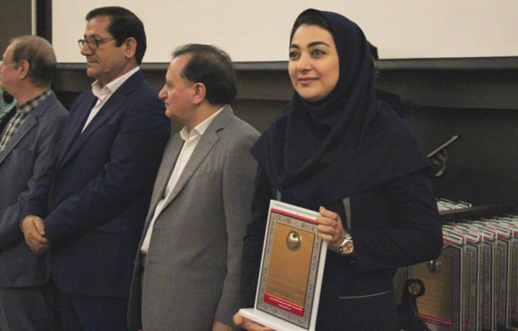 IMG 20191106 WA0046 1024x655 انتخاب روابط عمومی شرکت فولاد خوزستان به عنوان واحد برتر کشور