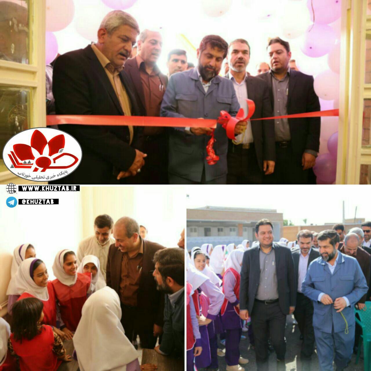 IMG 20191102 110035 162 آئین افتتاح مدرسه ۱۰ کلاسه مرصاد در شهر شاوور برگزار شد