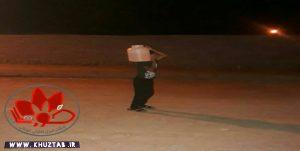 IMG 20191102 170838 400 300x151 دبههای آب روی شانههای دانشآموزان روستای سودان