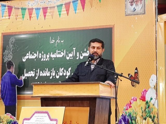 شریعتی استاندار خوزستان شناسایی و جذب ۶ هزار کودک بازمانده از تحصیل خوزستانی در ۳ سال گذشته