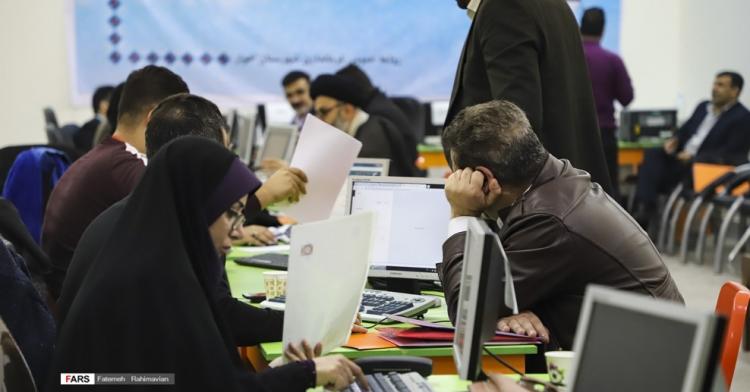 112350 735 رشد ۲۰ درصدی ثبت نام در انتخابات مجلس در خوزستان