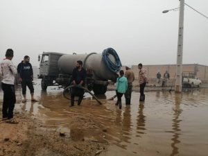1613 orig 300x225 شرکت فولاد خوزستان با بکارگیری امکانات به خدمت رسانی شهروندان اهوازی و کارونی پرداخت.