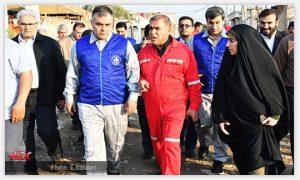 csr kut980 300x180 به دنبال تاکید وزیر نفت مبنی بر بسیج امکانات برای کاهش آسیب دیدگی مردم خوزستان بر اثر سیلاب