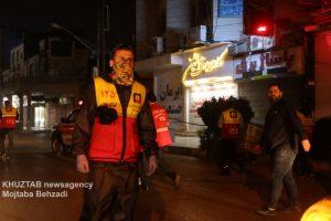 IMG 20200308 WA0028 300x200 استمرار عملیات ضدعفونی و گندزدایی معابر شهر اهواز توسط سازمان آتش نشانی