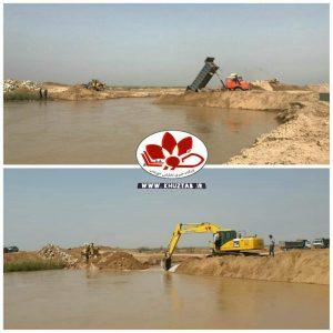 IMG 20200301 140658 501 300x300 آغاز عملیات ترمیم شکستگی سیل بند منطقه رفیع در رودخانه نیسان