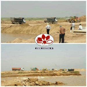 IMG 20200301 140704 254 300x300 آغاز عملیات ترمیم شکستگی سیل بند منطقه رفیع در رودخانه نیسان