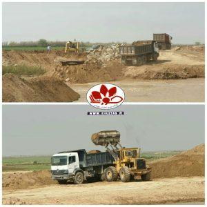 IMG 20200301 140707 031 300x300 آغاز عملیات ترمیم شکستگی سیل بند منطقه رفیع در رودخانه نیسان