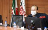 امین ابراهیمی مدیر عامل فولاد اکسین خوزستان سلامت پرسنل و خانواده ی آنها اولویت اول ما است